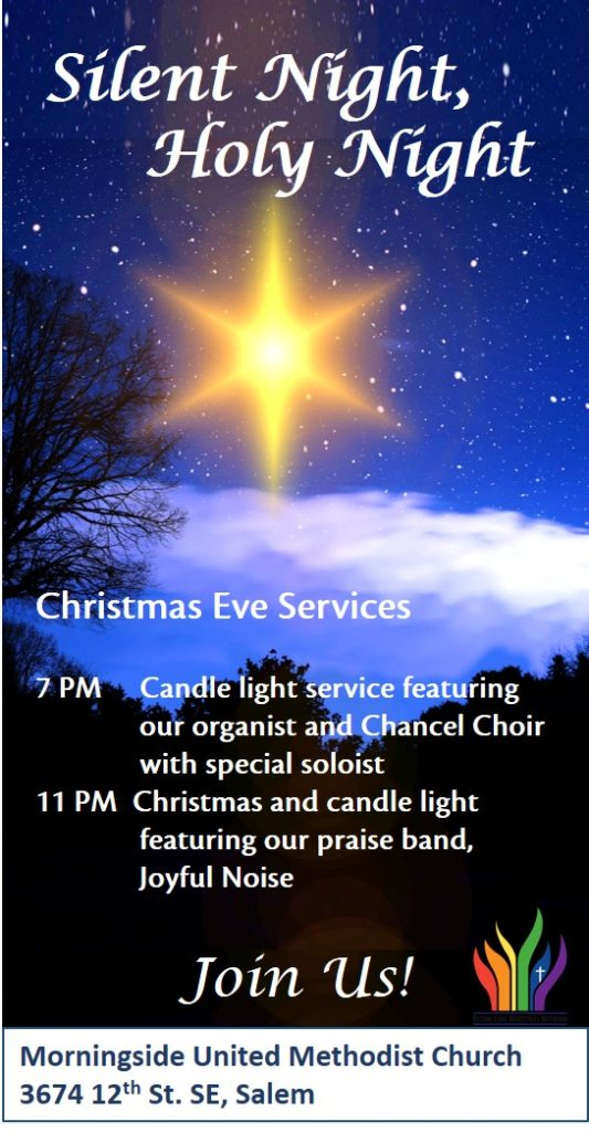 Christmas Eve Service @ Sanctuary | Salem | Oregon | United States