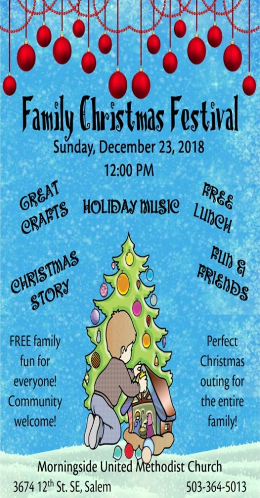 Family Christmas Festival @ Herrmann Hall